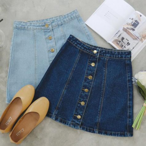 denim-skirts